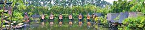 kafe di bandung yang menyatu dengan alam rumah dusun bambu