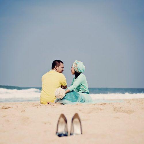 pantai drini di jogja untuk prewedding romantis