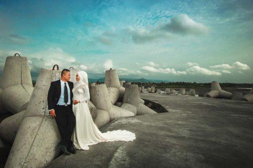 pantai glagah di jogja untuk prewedding romantis