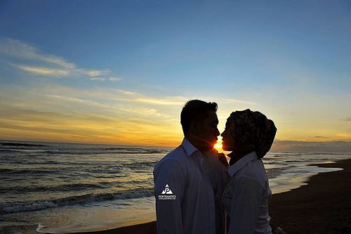 pantai parangtritis di jogja untuk prewedding romantis