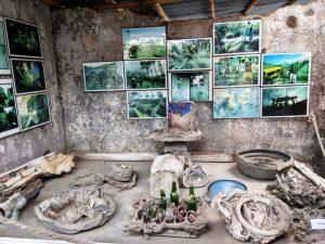 tempat wisata yang menyenangkan di kaliurang gunung merapi foto museum merapi