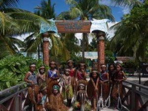 wonderful indonesia raja ampat penduduk arborek