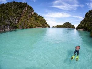 wonderful indonesia raja ampat snorkeling