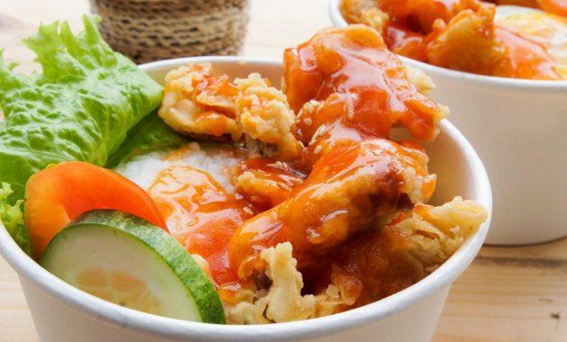 menu chicken crispy asam manis coday skylight resto jogja