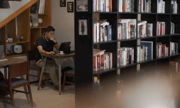 cafe di jogja yang instagramable dan asik buat nongkrong blanco coffee & books