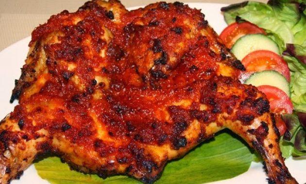 ayam bakar taliwang makanan khas nusa tenggara barat